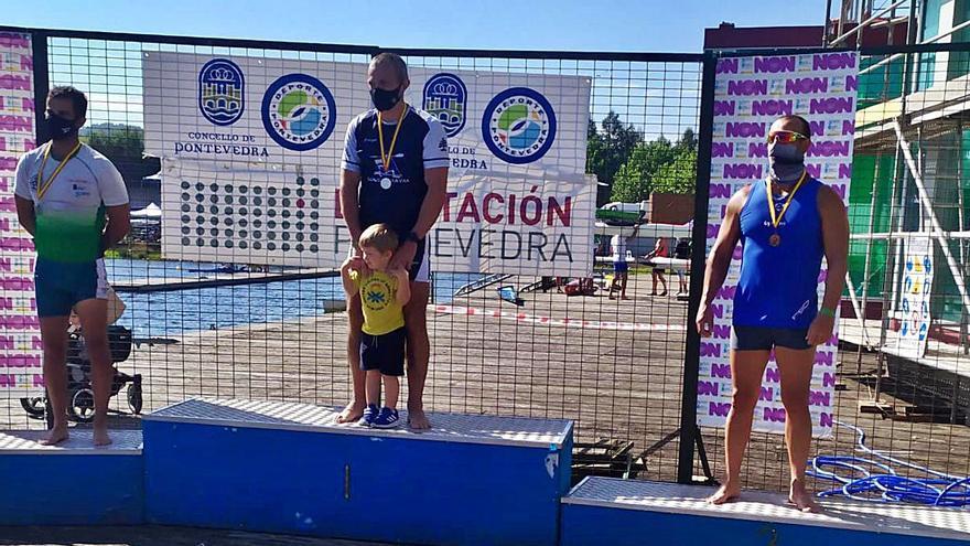 El palista de Cullera José Bolufer logra el bronce en el nacional de veteranos
