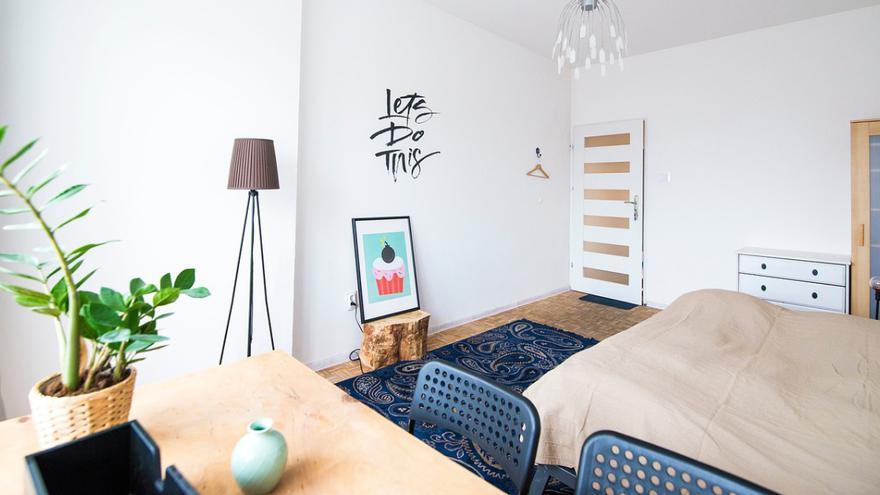 ¿Es bueno tener plantas en el dormitorio?