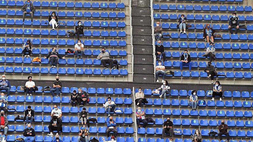 El estadio de Riazor podrá recibir a 500 asistentes