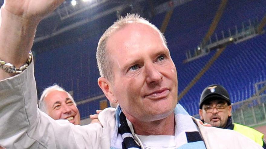Paul Gascoigne ingresa de nuevo en rehabilitación