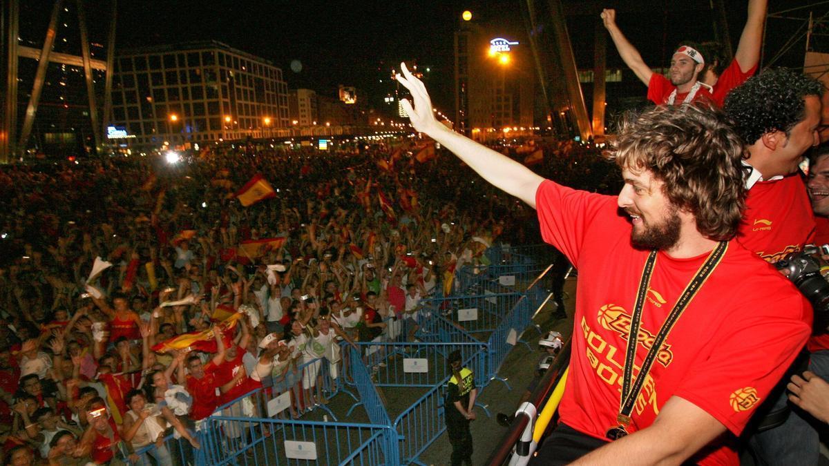 La carrera de Pau Gasol, en imágenes