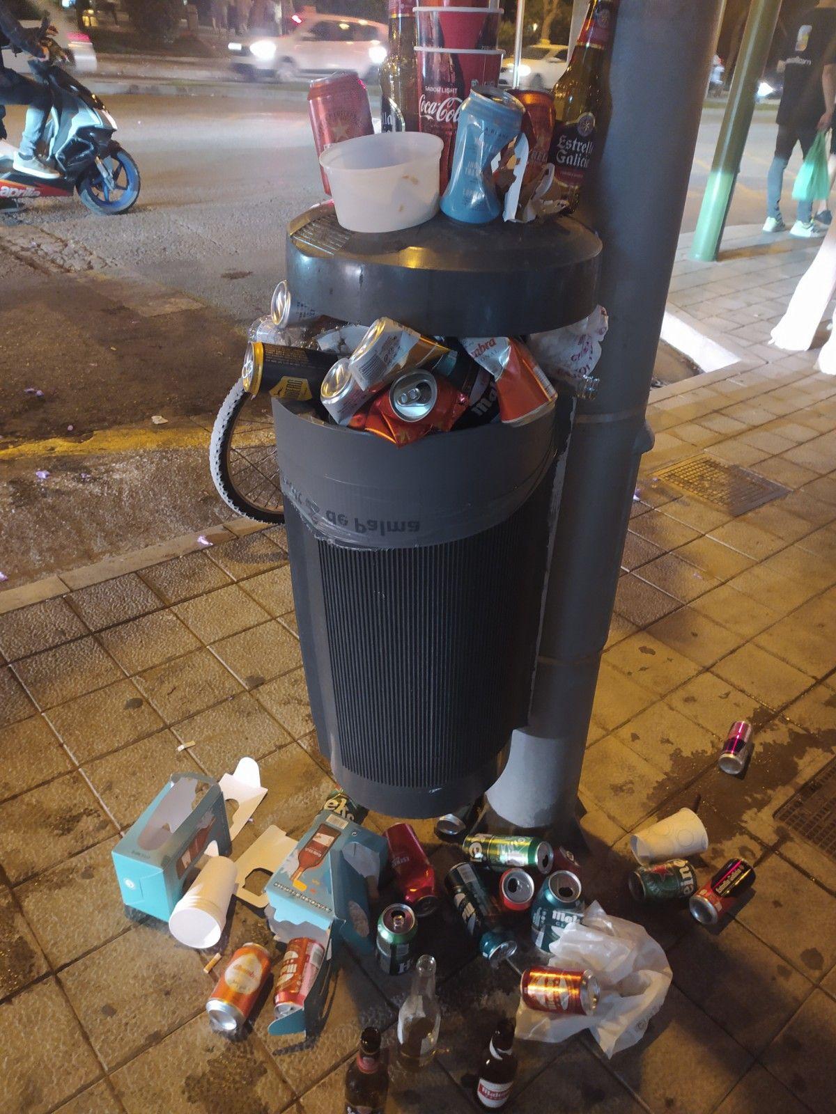 La Policía desaloja varios botellones en Palma