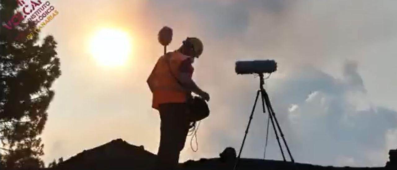 Los vecinos de La Laguna pretenden burlar al volcán de La Palma