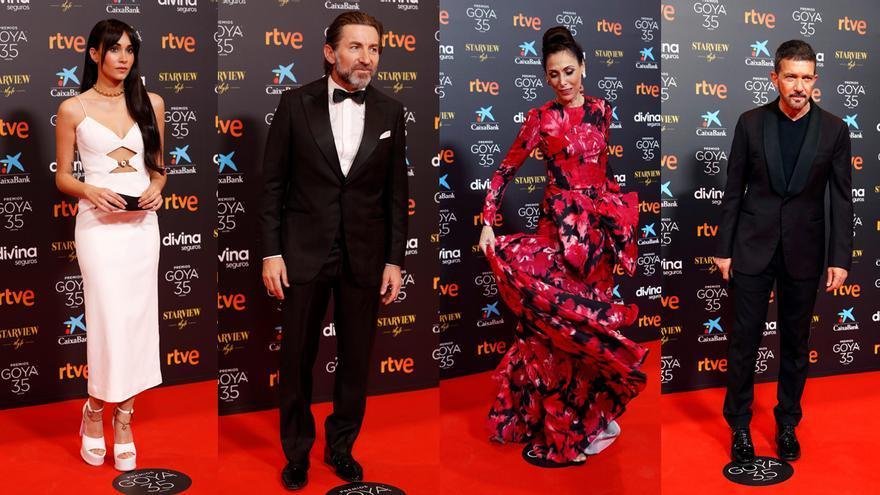 Los looks de la alfombra roja de los Goya 2021