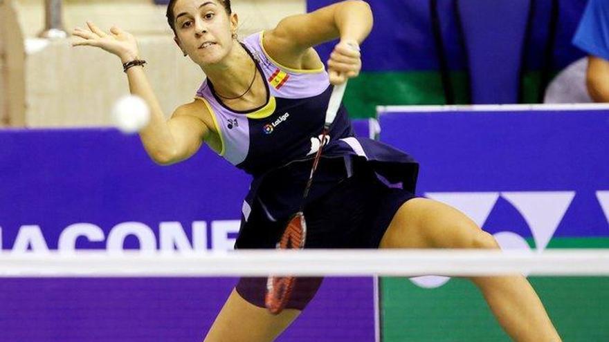 Carolina Marín, enferma, se retira del torneo chino de Fuzhou