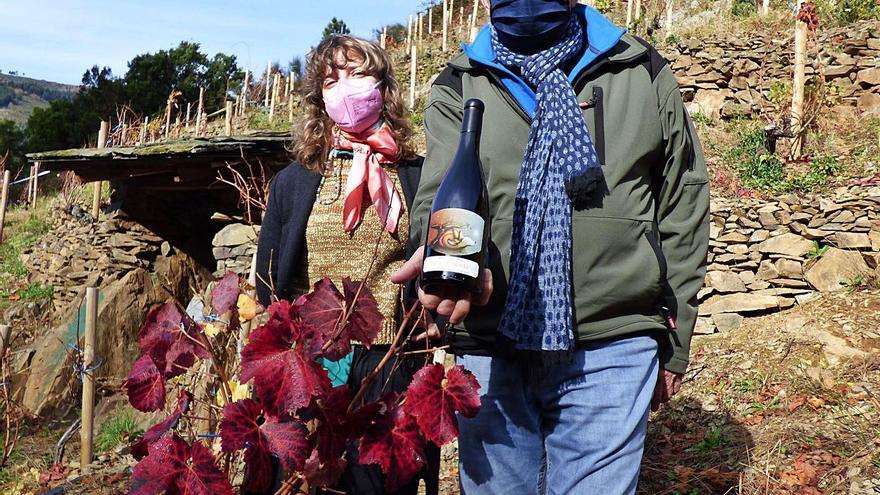 """Monasterio de Corias saca el primer vino con denominación de origen de la finca """"La Zorrina"""""""