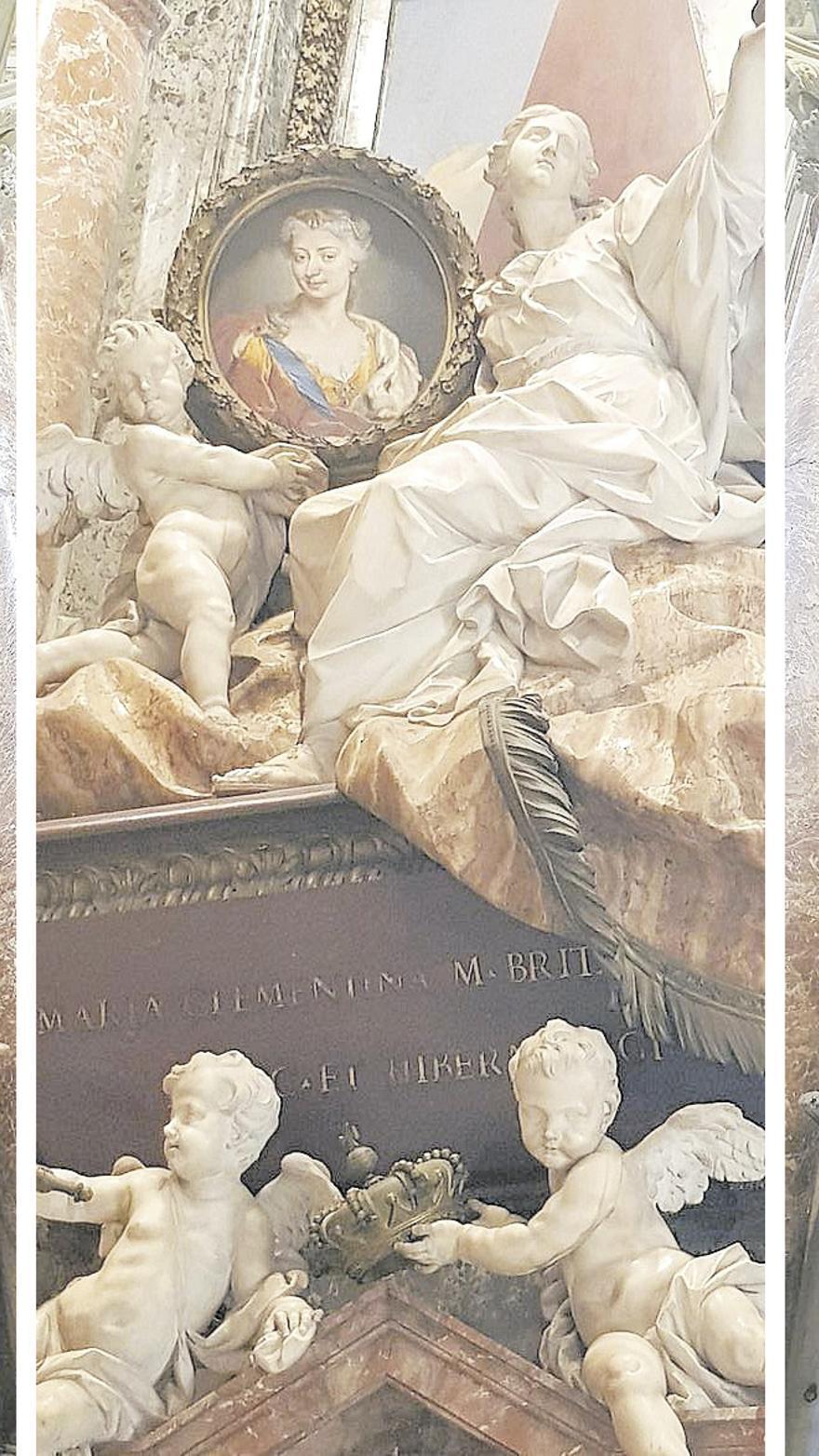 Mujeres enterradas en San Pedro del Vaticano