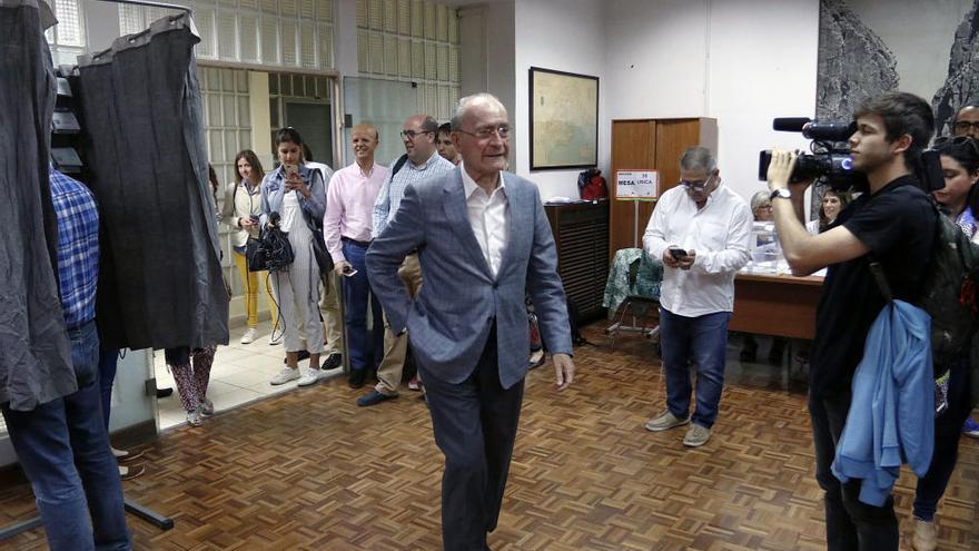 Los políticos de Málaga capital votan este 26M