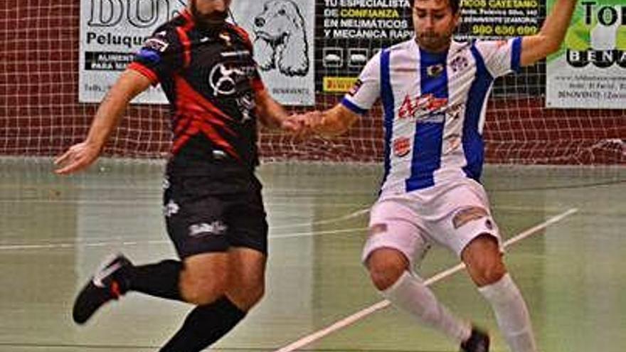 Santiago Sama vende cara su derrota en Benavente
