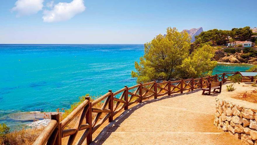 Paseos por la costa senderos azules