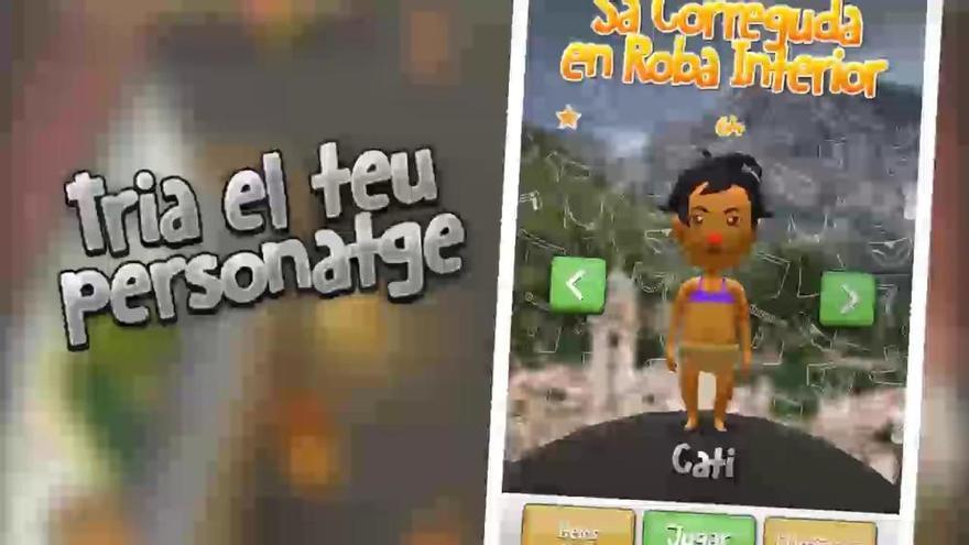 'Sa Correguda en Roba Interior' de Bunyola ya tiene videojuego