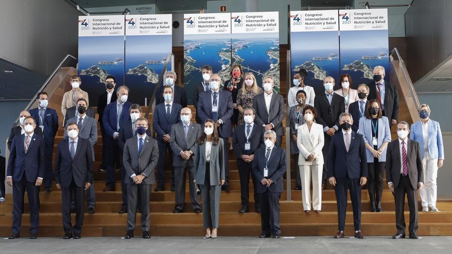 La Reina Letizia inaugura en Vigo el IX Congreso de la FAO