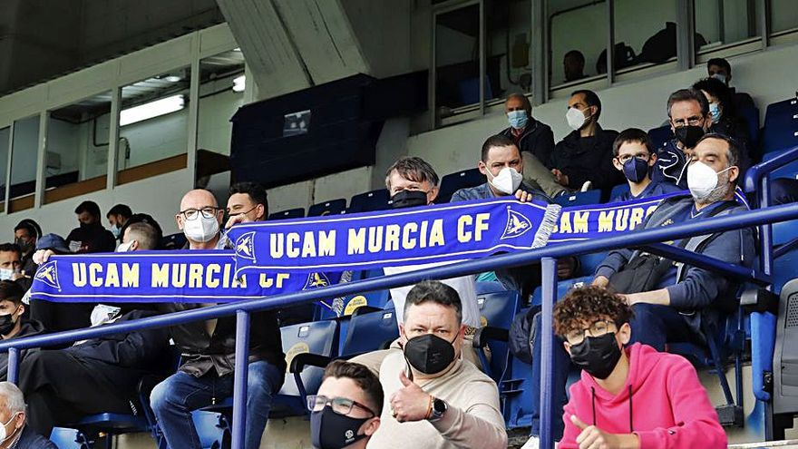 El UCAM jugará con público el play off de ascenso a Segunda División