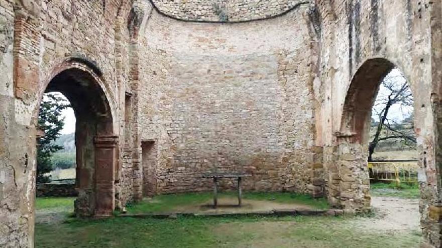 Marganell projecta la rehabilitació de l'església medieval de Sant Esteve