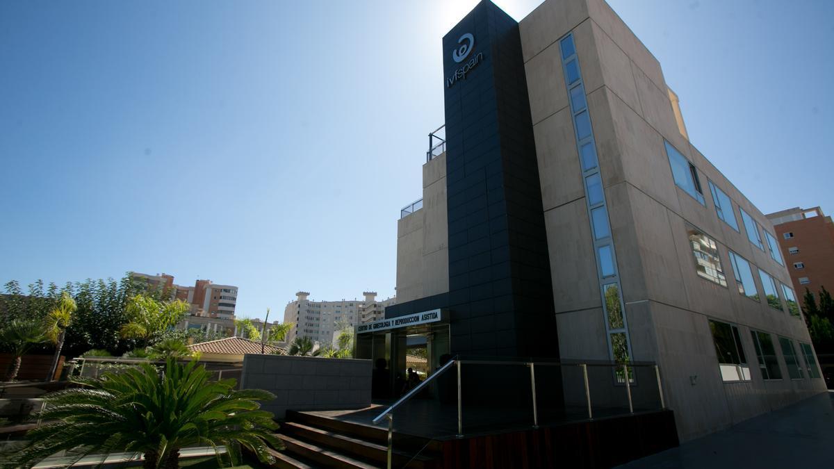 Las instalaciones de IVF Alicante.