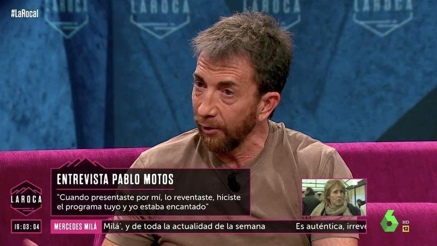 La íntima confesión de Pablo Motos en el estreno del programa de Nuria Roca