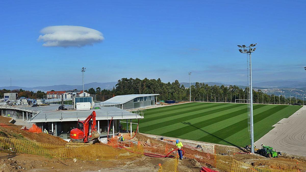 Imagen reciente del campo en el que entrenará el primer equipo. |  // FDV
