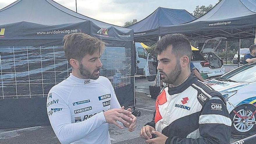 Solans manda en el Rallye Villa de Llanes, con Cohete tercero