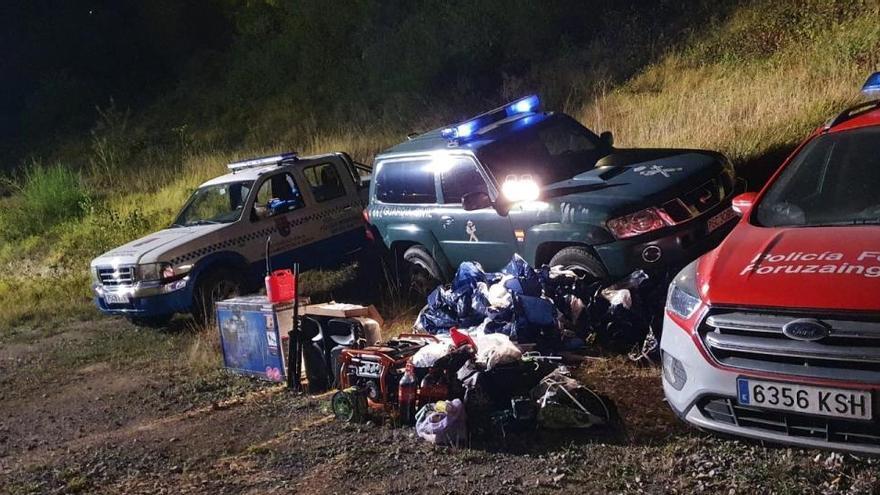 La Policía disuelve un macrobotellón en Alsasua