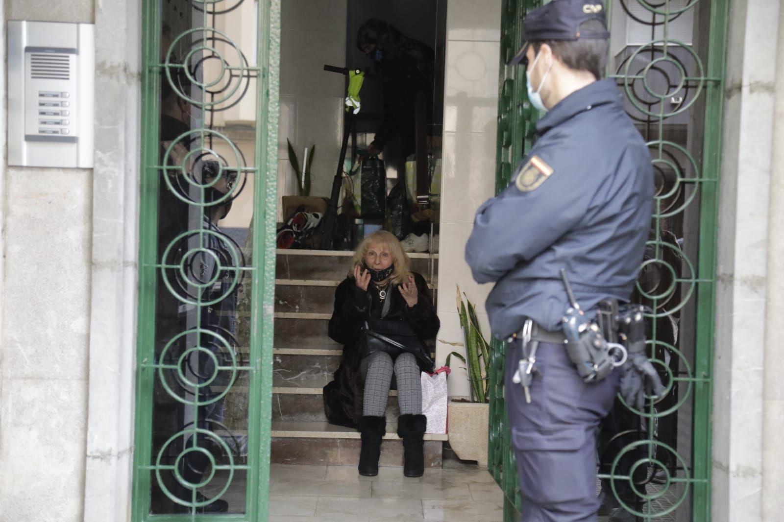 Un juzgado ejecuta el desahucio de una mujer de 70 años en Palma