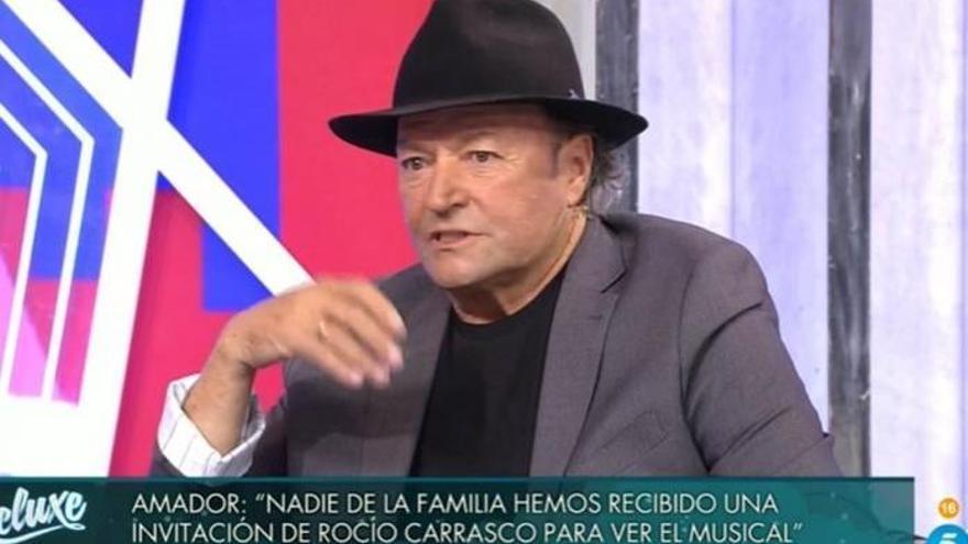 Amador Mohedano carga contra Rocío Carrasco y Fidel