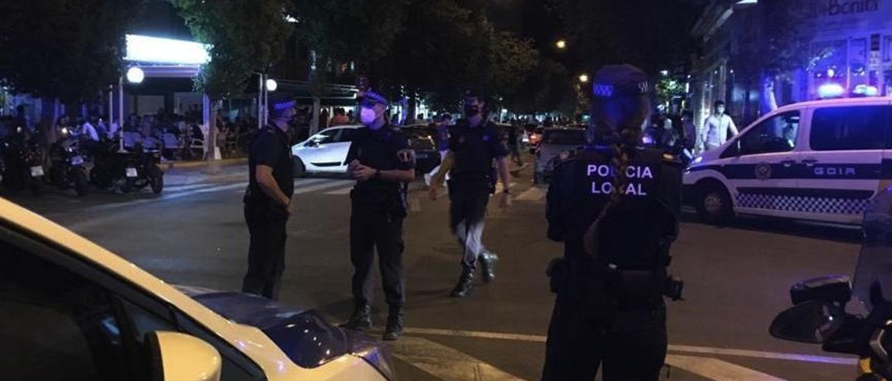 La Policía desaloja la primera discoteca en Alicante por no cumplir las medidas del covid