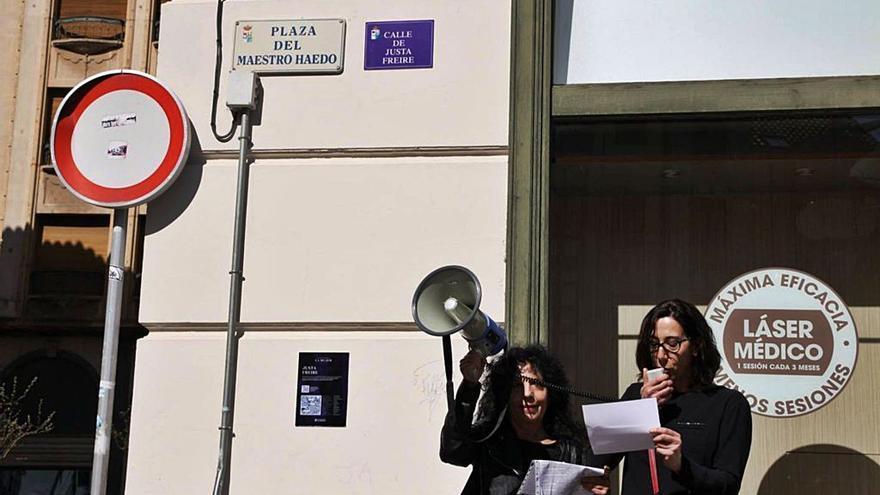 Zamora le dedicará un espacio a Justa Freire si Madrid no recupera su calle