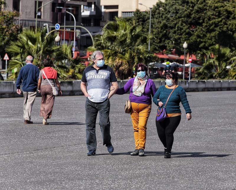 Santa Cruz de Tenerife, tras las restricciones de Navidad