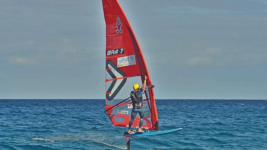 Mateus Isaac gana la 'Foil Challenge' de Lanzarote