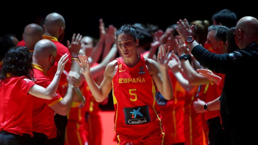 Primer partido de España en el Eurobasket