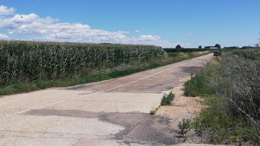 """Requejo cree """"necesario"""" dar una solución a la carretera de Santa Croya de Tera"""