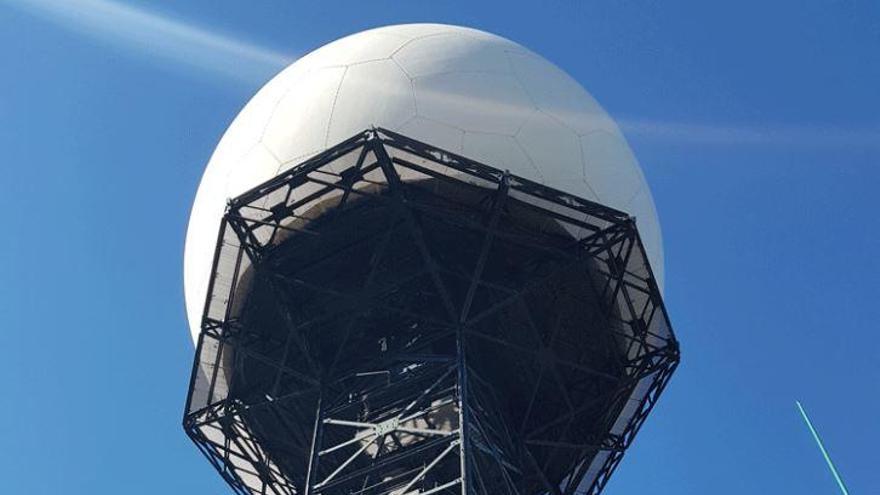 Der Berg Randa bekommt eine neue Kuppel