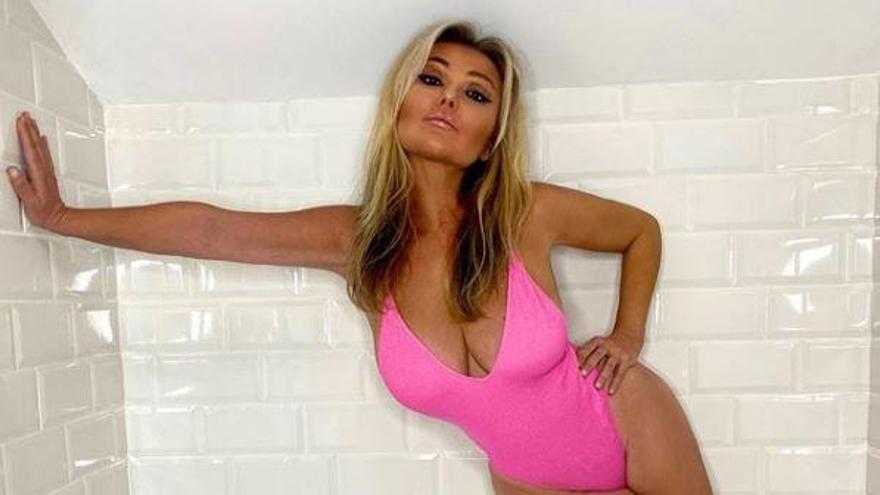 Amaia Montero y su versión Barbie en bañador