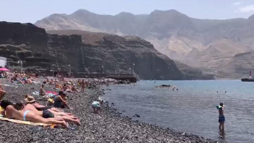Gran Canaria acumula cinco días con temperaturas de más de 40 grados
