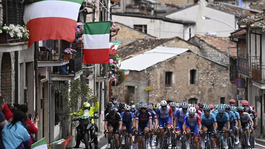 Sigue en directo la etapa de hoy del Giro de Italia