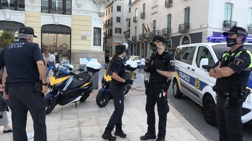 138 sanciones en el primer fin de semana de nuevo toque de queda en Alicante