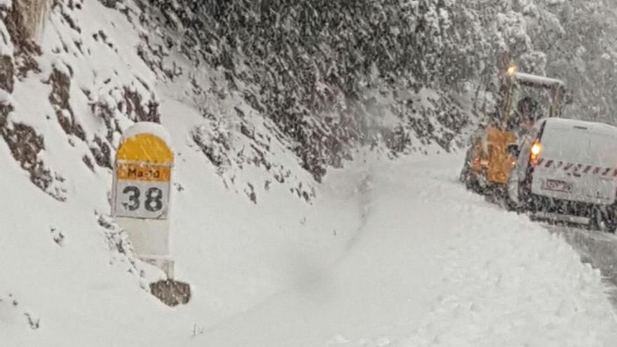 Und wieder Schnee, Hagel und Kälte auf Mallorca