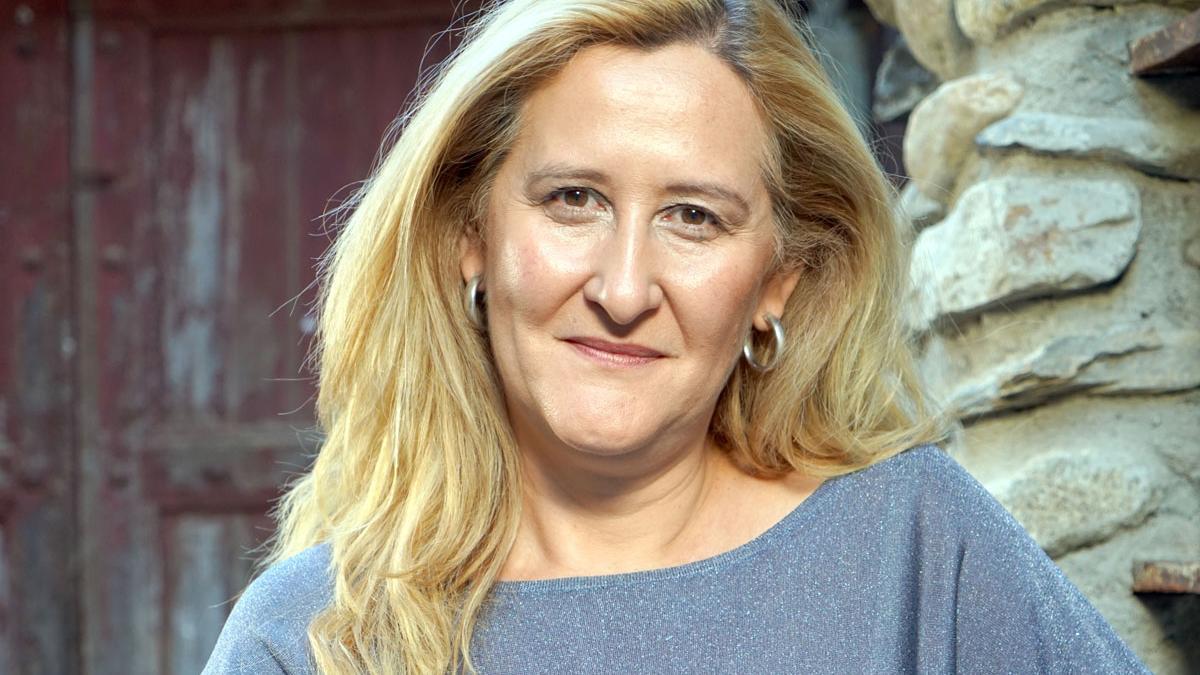 Luz Gabás. La escritora fue también alcaldesa de Benasque.