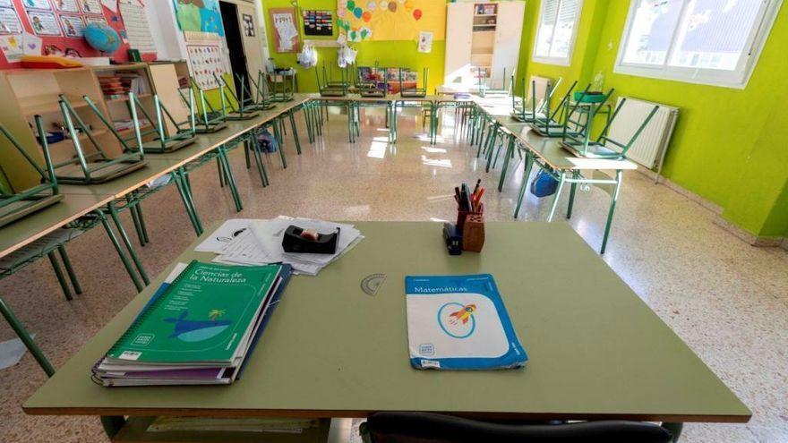 Siete aulas de 5 centros escolares de Extremadura inician la cuarentena