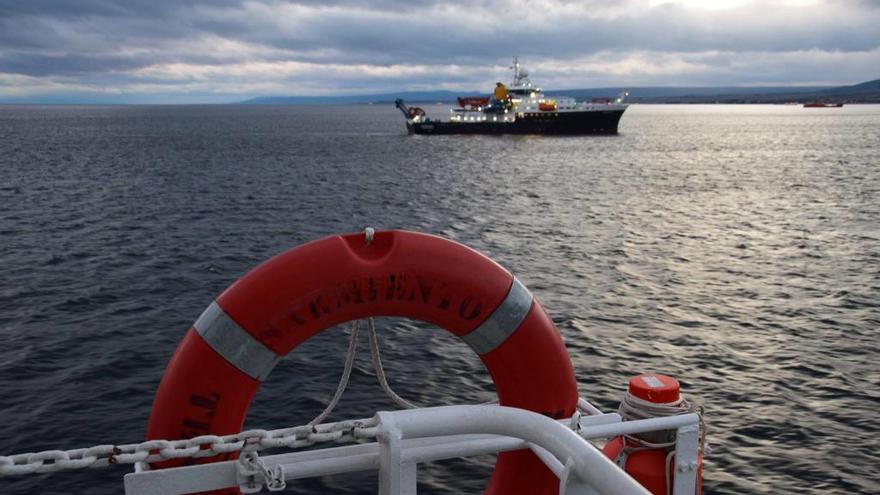 """""""Reunión"""" en Chile de tres oceanográficos construidos en el astillero vigués Freire"""