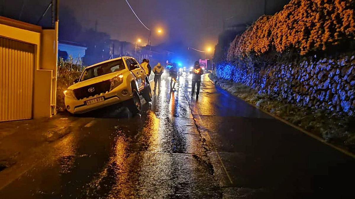 Uno de los numerosos accidentes que se han producido en la calle El Sol. | | E.D.