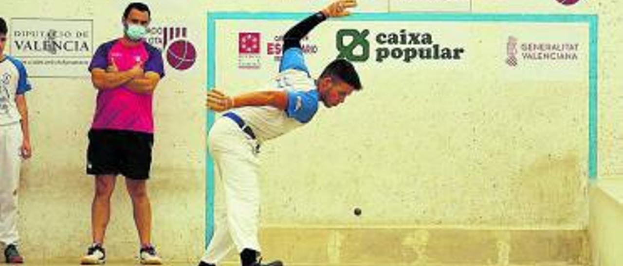 Juanma, de Massamagrell, jugó a un gran nivel. | FEPIVAL