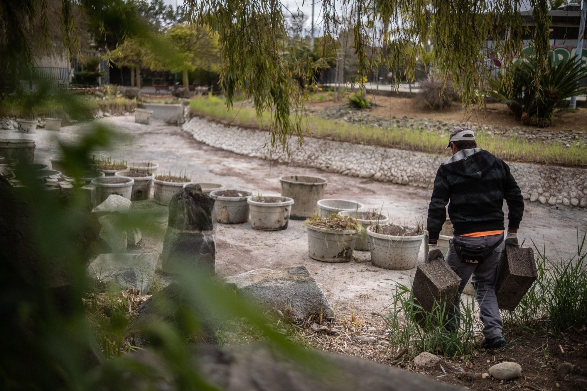 Obras en el Parque de la Vega