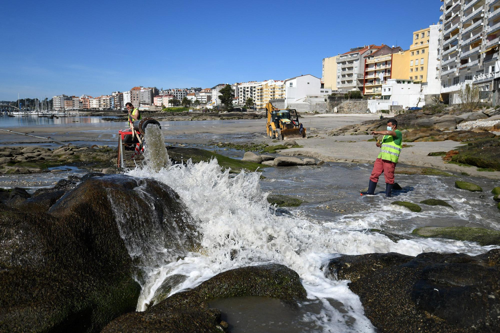 """A Carabuxeira, la """"nueva"""" playa de Sanxenxo"""