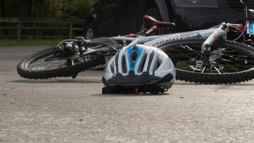 Encuentran a un ciclista muerto en una cuneta en Palencia