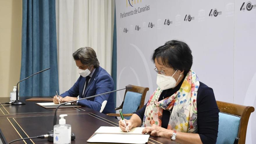 El Parlamento y Unicef medirán el gasto presupuestario en la infancia en Canarias