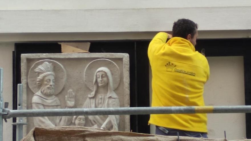 Concluye la restauración de las fachadas de Santa María de Gracia