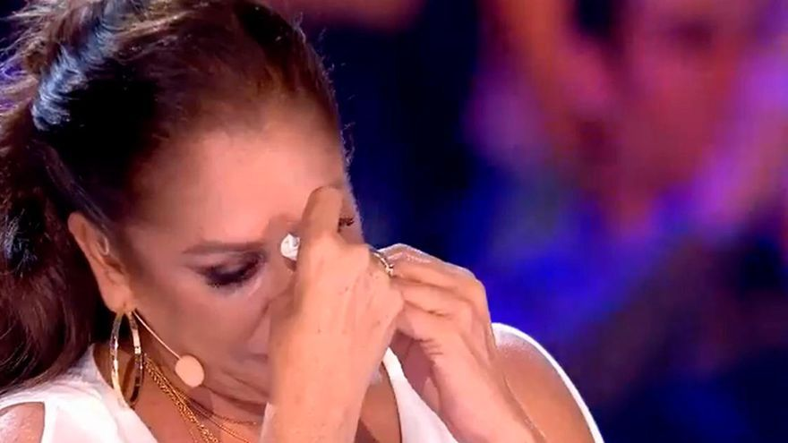 """Isabel Pantoja se rompe en 'Idol Kids':  """"Tú me has declarado tu amor y yo te declaro el mío"""""""