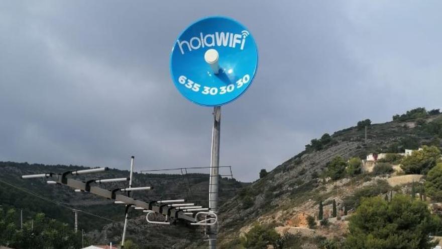 holaWifi revoluciona la velocidad por aire de las conexiones a Internet