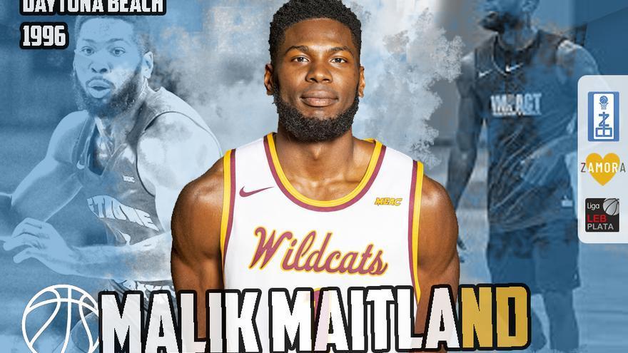 Malik Maitland, talento americano para el CB Zamora Enamora